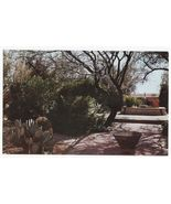PATIO GARDEN  TUMACACORI NATIONAL MONUMENT ARIZONA~ c1960s-70s AZ postcard - $3.22