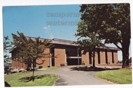 Ny Geneseo State College  Library   New York C1960s Postcard - $3.22