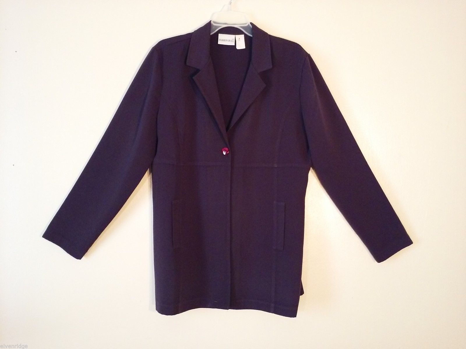 Womens Fashion Bug Purple Blazer