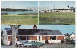 ALEXANDRIA BAY NY - HILLTOP MOTEL and MOTOR COURT -  c1950s-60s vintage ... - $5.47
