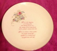 "Russ Wedding - Love Plate - ""Wedding Blessing"" - $15.00"