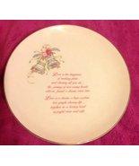 "Russ Wedding - Love Plate - ""Wedding Blessing"" - $15.00"