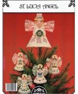 St. Lucia Angel Tree Topper Astor Place Cross Stitch Pattern - $3.50