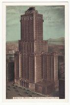 New York City NY SHELTON HOTEL SKYSCRAPER BUILDING c1930s postcard NYC - $3.63