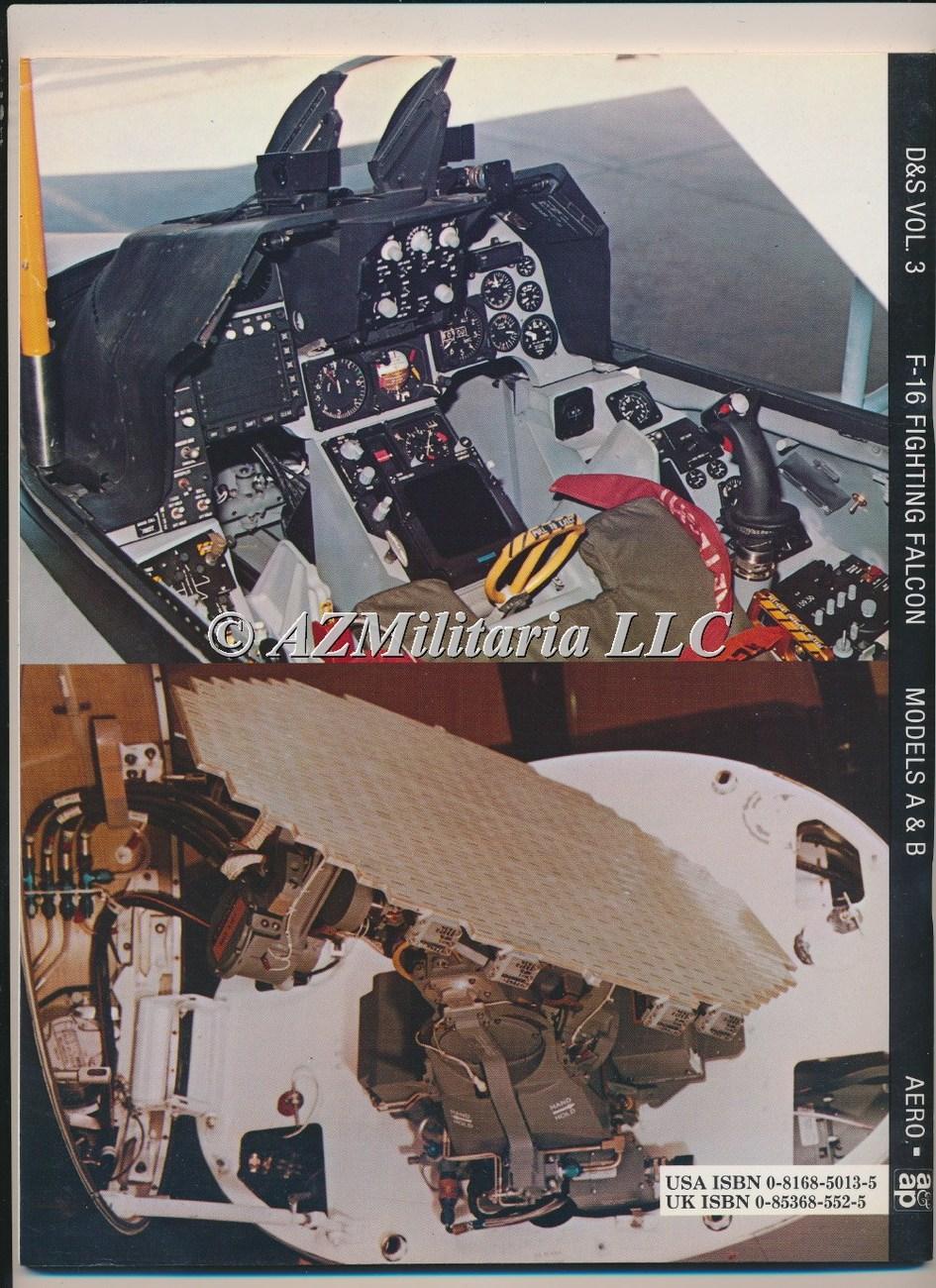 F-16 Fighting Falcon Models A & B D&S VOL 3
