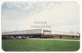 NILES Michigan - KAWNEER AIRCRAFT PRODUCTS FACTORY 1960s chrome postcard MI - $5.47