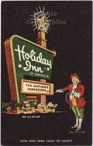 Hannibal Missouri MO - Holiday Inn c1960s Comic Advertising postcard - $3.22
