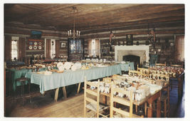 HODGENVILLE KY  NANCY LINCOLN INN INTERIOR~MUSEUM & SOUVENIRS~c1960s pos... - $3.22