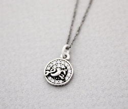 925 Sterling Silver Capricorn, The Goat Pendant Necklace - Zodiac Sign J... - $29.00