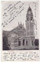 Montreal Church, Quebec Canada, Eglise Saint Louis de France c1904 postcard - $3.63