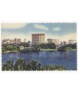 St Petersburg FL The Suwannee Hotel 1940s linen unused vintage postcard - $3.22