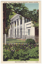 THE HERMITAGE, HOME OF PRESIDENT ANDREW JACKSON NEAR NASHVILLE TN 1940s ... - $3.63