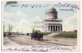 NEW YORK CITY ~ GRAND'S TOMB RIVERSIDE DRIVE ~ 1901 antique postcard ~ NY - $4.55