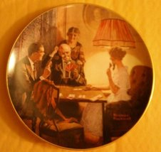 Norman Rockwell - Knowles Collector's Plate with Certificate of Authenti... - $15.99