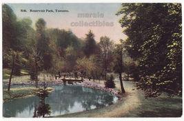 Toronto Ontario ~ Reservoir Park Scene c1910s Canada vintage postcard - $3.63