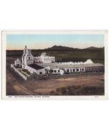 Tucson Arizona AZ - San Xavier Mission ~ General View c1920s-30s postcard - $2.71