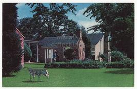 Little Rock AR ~ Arkansas Territorial Restoration 1960s vintage postcard M8331 - $3.22