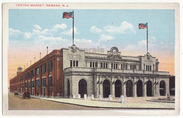 Newark NJ, Centre Market c1920s New Jersey postcard M8984 - $3.04