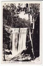 AUSTRALIA Trentham Falls Victoria c1930s vintage real photo postcard - $8.23