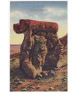 The Arm Chair, Petrified Forest Arizona c1940s vintage linen postcard ~AZ - $2.71