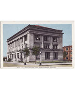 CHEYENNE WY ~ US POST OFFICE COURT HOUSE BUILDINGS vintage Wyoming postcard - $3.22
