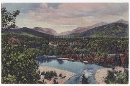 White Mountains NH ~ Franconia Notch Pemigewasset River 1940s old postcard - $3.04