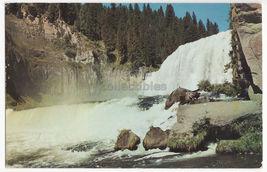 Upper Mesa Falls, Snake River Idaho c1960s scenic postcard ~ ID - $3.63