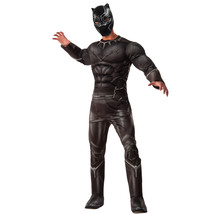Marvel Men's Captain America: Civil War Deluxe Muscle Chest Panther Costume, - $69.97