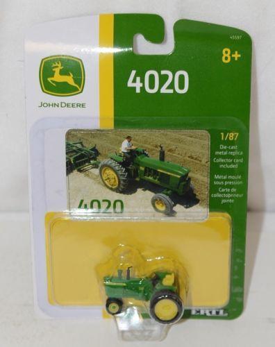 John Deere LP67333 Die Cast Metal Replica 4020 Tractor