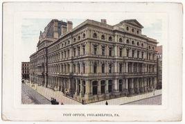 Philadelphia Pa, Post Office Building ~C1910s Vintage Postcard - $3.63