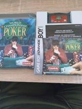 Nintendo Game Boy Advance GBA World Championship Poker - COMPLETE In Box image 2