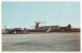 SOUTH BEND IN~ST JOSEPH COUNTY AIRPORT ~ BENDIX FIELD & AIRCRAFT~1960s p... - $5.47