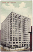 CLEVELAND OH, ENGINEER's BUILDING ~c1910s vintage Ohio postcard - $3.22