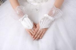 New Ivory Fingerless Wedding Gloves - $6.52