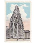 New York City NY, Paramount Building - Times Square c1920s vintage postcard - $3.63