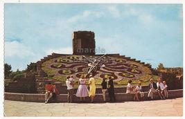 Niagara Falls ~ The Ontario Hydro Floral Clock 1960s Canada postcard 8458 - $2.71