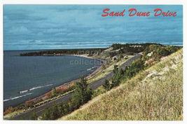 Keweenaw County, Michigan ~ Sand Dune Drive , Sand Bay ~1960s Postcard - $3.63