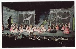 St Louis Mo, Municipal Opera Theater Postcard C1960s Desert Song Stage Show - $3.63