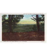 View fm Sherman Hill Wyoming along US 30 Lincoln Highway c1930s WY postcard - $2.71