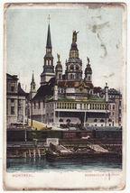 MONTREAL QC, Bonsecour Church, c1906 vintage color postcard - Canada - $4.55