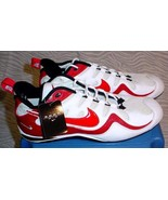 Nike Zoom Air Football Shoes Men's Size 16 White & Red Pre-owned Unworn - $29.75