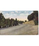 CALIFORNIA The New San Jose - Santa Cruz Scenic Highway -1950s postcard - $6.39