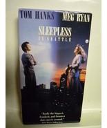 Sleepless in Seattle (VHS, 1993) Tom Hanks, Meg Ryan - $3.71