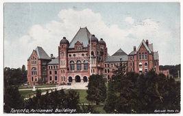 Toronto Ontario Parliament Buildings Early View c1906 Canada postcard - $3.63