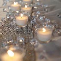 4.5mm 3000PCS DIY Wedding Party Festive Decor Bling Transparent Acrylic Crystals - $4.99