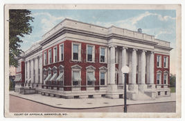 ANNAPOLIS MD ~ COURT OF APPEALS BUILDING 1910s postcard - $4.55