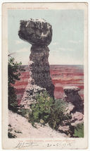 GRAND CANYON Arizona ~Thor's Hammer 1902 Detroit Photographic UDB postca... - $3.63