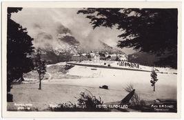 ARGENTINA PATAGONIA NAHUEL HUAPI NATIONAL PARK~HOTEL LLAO LLAO~RPPC post... - $15.64
