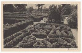 MOUNT VERNON VA ~ THE FLOWER GARDEN - G WASHINGTON 1938 MVLA postcard - $2.71