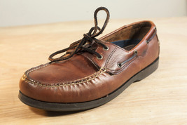 Dockers 11.5 Brown Leather Boat Shoes Men - $32.50